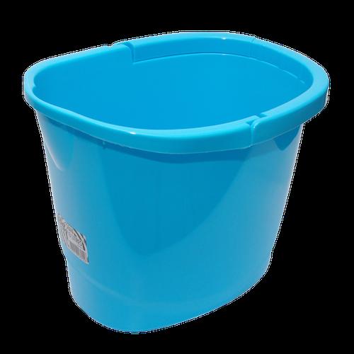 Seau bleu hanse plastique