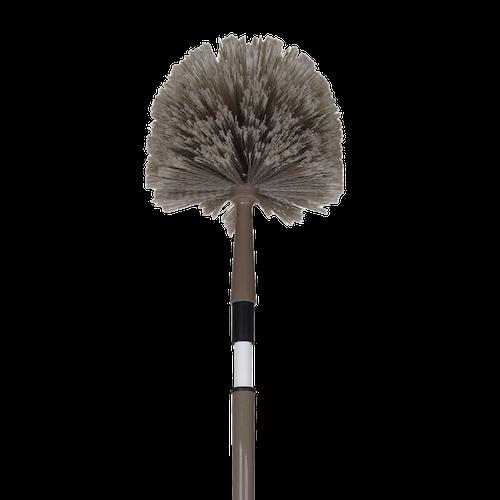 806455 - Plumeau tête de loup coloris taupe