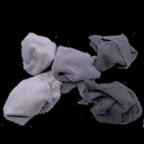 Chiffons microfibre gris