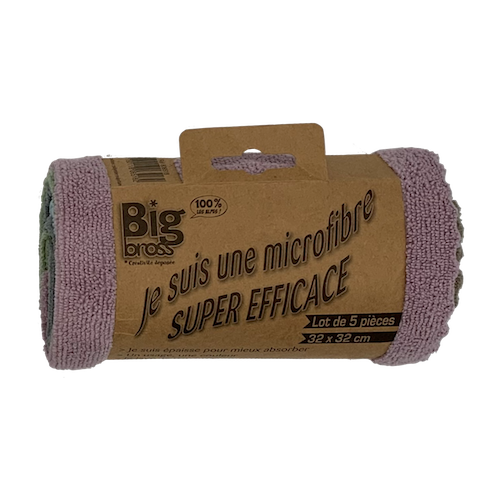 Lot microfibres super efficaces