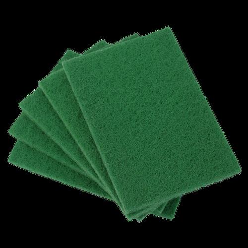 green scouring spongs